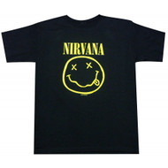 Nirvana Smiley Face Smile T-Shirt