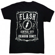DC Comics The Flash Filigree Adult T-shirt