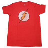DC Comics Flash Distressed Logo T-shirt