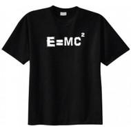 Albert Einstein E=MC2 Equation T-shirt