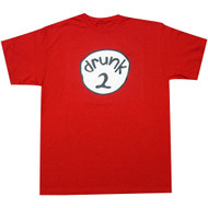 Drunk 2 Funny Red T-Shirt