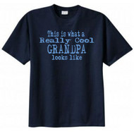This Is What a Really Cool Grandpa Looks Like Funny T-shirt