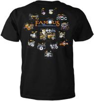 Famous Drums Set Music T-shirt