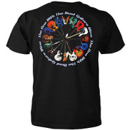 The One with the Most Guitars Wins T-shirt