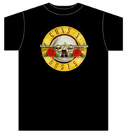 Guns N Roses Bullet Logo Adult T-Shirt