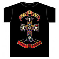 Guns N Roses Appetite For Destruction Cross Adult T-Shirt