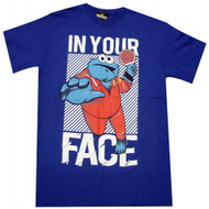 Sesame Street Cookie Monster In Your Face T-shirt