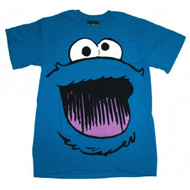 Sesame Street Cookie Monster Smile Face T-shirt