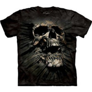 Breakthrough Skull Tie Dye Adult T-shirt