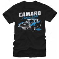 General Motors Classic Camaro Adult T-shirt