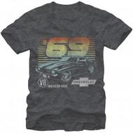 General Motors 69 Camero Adult T-shirt