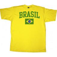 Brasil Brazil Soccer Football Futbol T-shirt