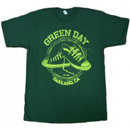 Green Day Oakland CA All-Star Adult T-Shirt