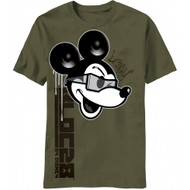 Disney Mickey Mouse Old Paper Adult T-shirt