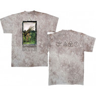 Led Zeppelin Man With Sticks Tie Dye Adult T-Shirt