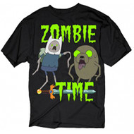 Adventure Time Zombie Time Adult T-Shirt