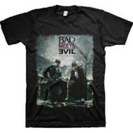 Eminem Bad Meets Evil Burnt  Adult T-Shirt