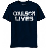 Agents Of Shield Coulson Lives Marvel Comics T-shirt