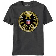Agents Of Shield Madallion Logo Marvel Comics T-shirt