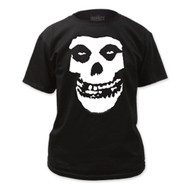 The Misfits Fiend Skull Logo Adult T-shirt