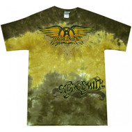Aerosmith Ray Logo Tie Dye Adult T-Shirt