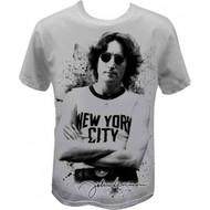John Lennon Famous New York City Image T-shirt