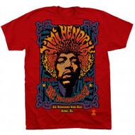 Jimi Hendrix 5th Dimension Adult T-Shirt