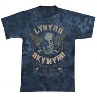 Lynyrd Skynyrd Gimme Back My Bullets Tie Dye Adult T-Shirt