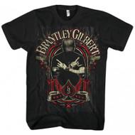 Brantley Gilbert Crossed Arms Adult T-Shirt