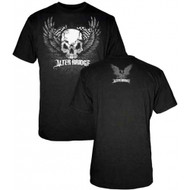 Alter Bridge Skull With Wings Adult T-Shirt