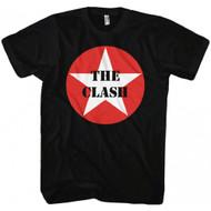 The Clash Star Logo Adult T-shirt
