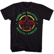 The Clash Guns Of Brixton Adult T-shirt