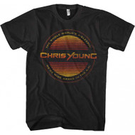 Chris Young Circle Lines Adult T-shirt