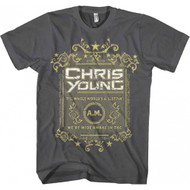 Chris Young The Whole World's A Sleepin Adult T-shirt