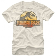 Jurassic Park Safari Logo Adult T-Shirt