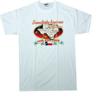 Somebody Love Me in Texas T-shirt Lone Star State