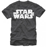 Star Wars Simplest Logo Adult T-shirt