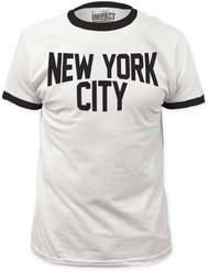 New York City Ringer Adult T-shirt
