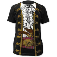 Pirate Prince Big Print Subway Adult T-Shirt