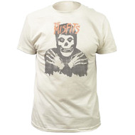 Misfits Classic Skull Distressed Print Adult T-shirt