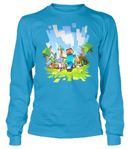 Minecraft - Adventure Long Sleeve Youth T Shirt