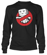Minecraft - Ghastbusters Long Sleeve Youth T Shirt