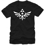 The Legend Of Zelda Triumphant Triforce Adult T-shirt
