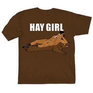 Bojack Horseman - Hay Girl Adult T-Shirt