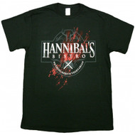 Hannibal's Bistro Nothing Here Is Vegetarian Adult T-Shirt