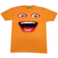The Annoying Orange Big Face Adult T-shirt