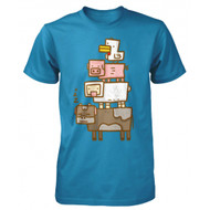 Minecraft Animal Totem Youth T Shirt