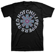 Red Hot Chili Peppers Calidoscope Adult T-Shirt