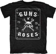Guns N Roses Street Sign Spencer Adult T-Shirt