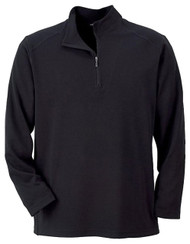 Ash City - North End Sport Red Men's Long Sleeve Polyester Pinstripe Half-Zip Mock